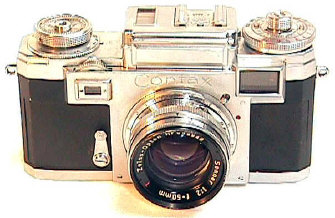 Sheldon Brown's Contax IIIa Camera