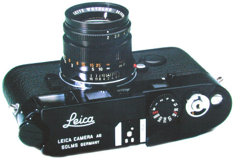 Leica M6 LHSA Black Paint