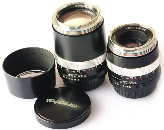 Lenses Discontinued -Voigtlander SL Lenses