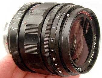 Voigtländer 35mm 1.2 lens (M-mount)